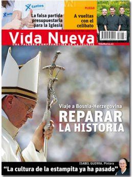 portada Vida Nueva Papa Francisco en Sarajevo 2945 junio 2015 Grande