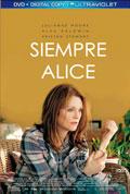 Caratula  de la película ' 'Siempre Alice'