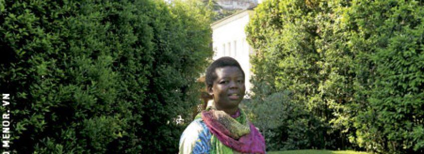 Sor Rita Mboshu, religiosa congoleña, profesora en la Pontificia Universidad Urbaniana de Roma