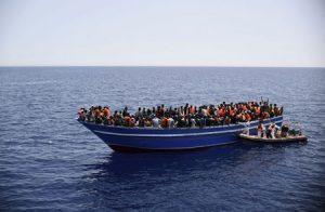 Barcaza interceptada en el Mediterráneo