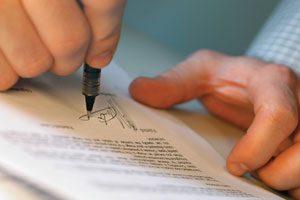 Firma de testamento