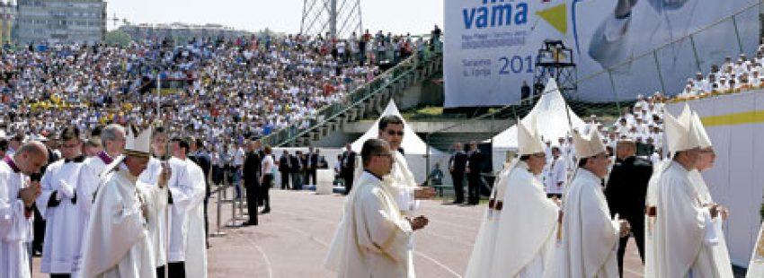 papa Francisco en Sarajevo 6 junio 2015