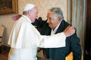 Francisco con Mujica, expresidente uruguayo