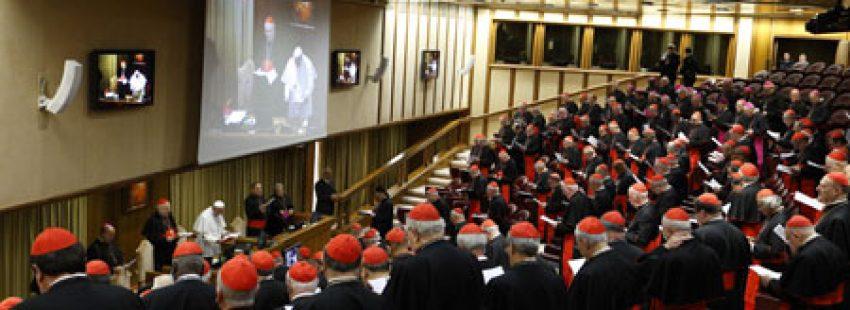 Sínodo de Obispos sobre la familia octubre 2014