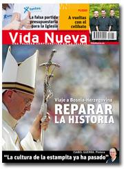 portada Vida Nueva Papa Francisco en Sarajevo 2945 junio 2015 pequeña