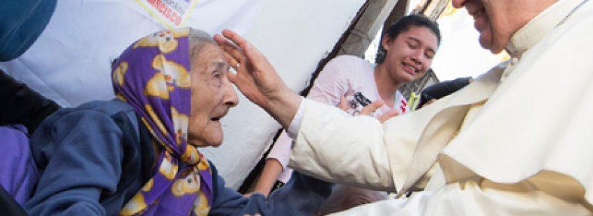 papa Francisco visita el barrio Bañado Norte en Paraguay 12 julio 2015