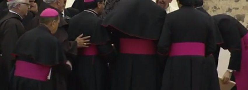 papa Francisco encuentro con sacerdotes, religiosos, religiosas y seminaristas Ecuador julio 2015