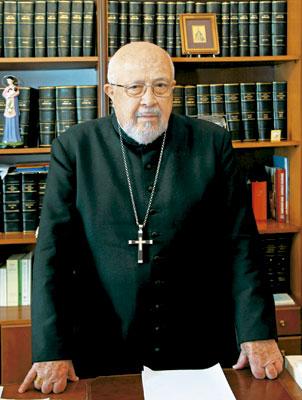 Franghískos Papamanólis, presidente de la Conferencia Episcopal Griega