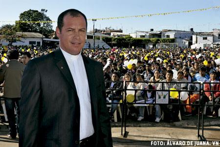 Leonardo da Silva, sacerdote, capellán de la cárcel de Palmasola, Santa Cruz de la Sierra, Bolivia, que visitó el papa Francisco en julio de 2015