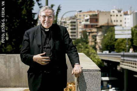 Lluís Martínez Sistach, cardenal arzobispo de Barcelona