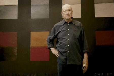 Sean Scully, pintor abstracto, ha decorado el monasterio de Santa Cecilia de Montserrat