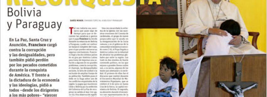 A fondo Vida Nueva Papa en Bolivia y Paraguay 2950 julio 2015