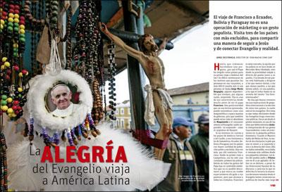 A fondo Vida Nueva Previo visita del papa Francisco a América Latina julio 2015 2948