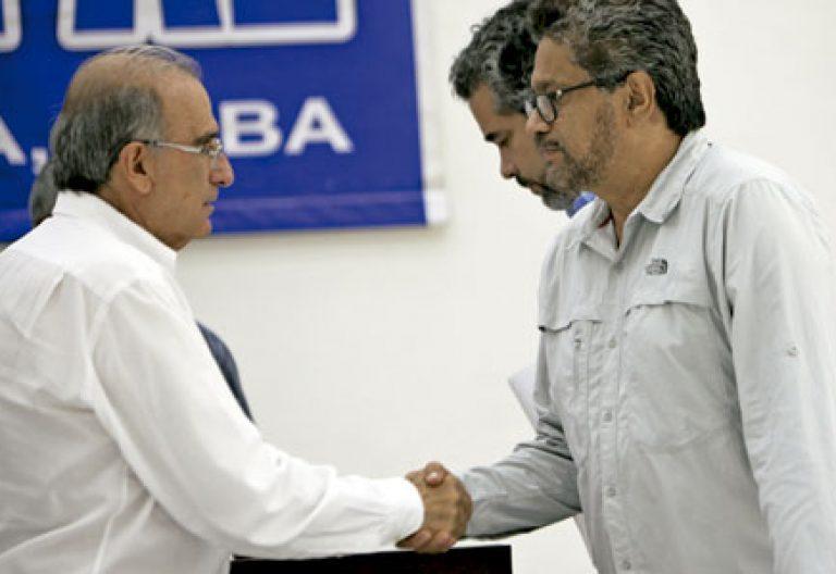 diálogos de paz en La Habana entre el Gobierno de Colombia y las FARC