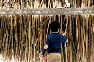 exposición Camino, a orixe, en Santiago de Compostela 2015