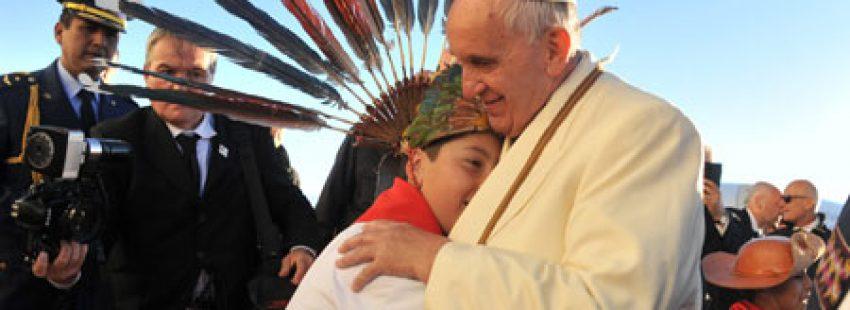 papa Francisco en Bolivia viaje apostólico 5-13 julio 2015