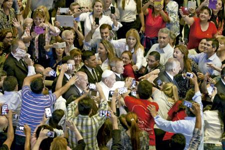papa Francisco en Paraguay viaje apostólico 5-13 julio 2015