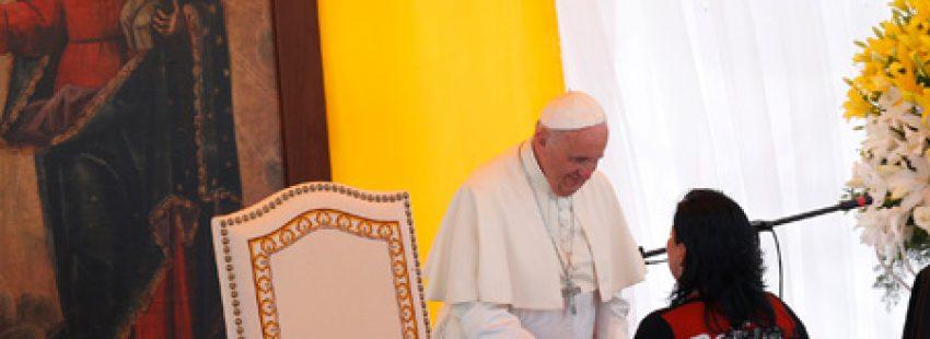 papa Francisco visita el centro de rehabilitación Santa Cruz-Palmasola en Bolivia 10 julio 2015