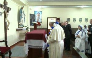 papa francisco hermanas caridad quito 8 julio