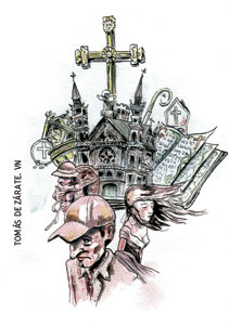 ilustración de Tomás de Zárate para el artículo de Francesc Torralba 2951