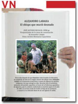portada Pliego Vida Nueva Alejandro Labaka 2948 julio 2015