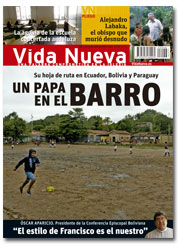 portada Vida Nueva Previo viaje del Papa a América Latina 2948 julio 2015 pequeña
