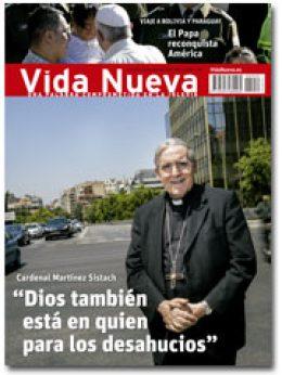 portada Vida Nueva Entrevista con el cardenal Sistach 2950 julio 2015 pequeña