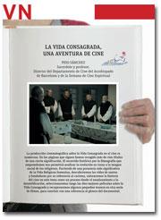 portada Pliego Vida Nueva Cine y Vida Consagrada 2951 julio 2015