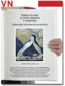 portada Pliego Vida Nueva Escritos de Teresa de Jesús 2952 agosto 2015