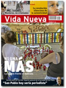 portada Vida Nueva Iglesia contra la violencia de género 2953 agosto 2015 pequeña