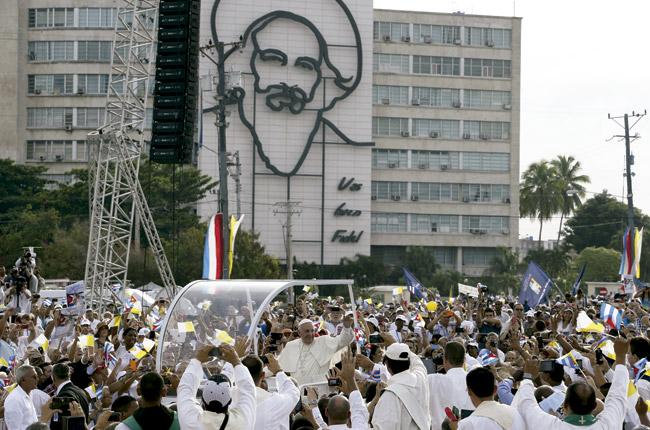 papa Francisco preside la misa en la Plaza de la Revolución de La Habana 20 septiembre 2015