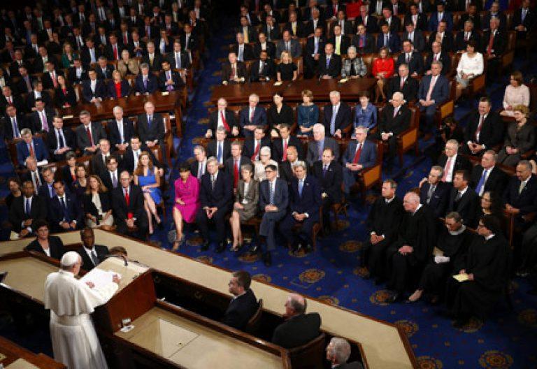 papa Francisco discurso ante el Congreso de los Estados Unidos de América 24 septiembre 2015