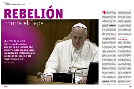 apertura A fondo VN Rebelión contra el Papa ante el Sínodo sobre la Familia 2956 septiembre 2015