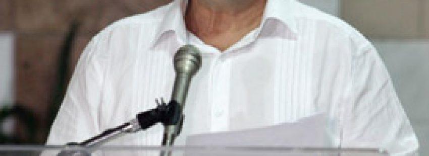 miembro del secretariado de las FARC-EP, Luis Antonio Losada Gallo, alias Carlos Antonio Lozada, en La Habana, donde continúan los diálogos de paz con representantes del Gobierno colombiano 16 septiembre