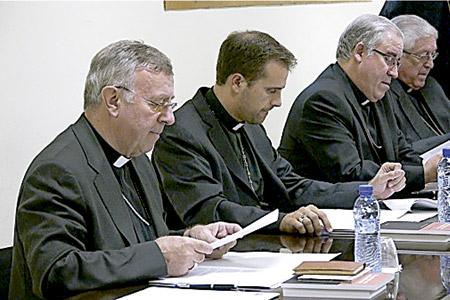 Imagen de archivo de los obispos catalanes en la Conferencia Episcopal Tarraconense (2012)