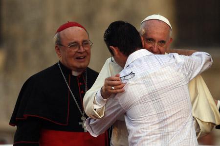 papa Francisco a los jóvenes Centro Cultural Padre Félix Varela, La Habana 20 septiembre 2015