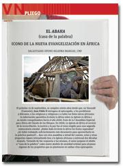 portada Pliego Vida Nueva La Nueva Evangelización en África 2954 septiembre 2015