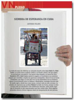 portada Pliego Tres papas en Cuba 2955