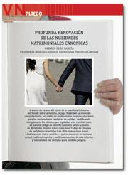 portada Pliego Reforma de las nulidades matrimoniales 2955 septiembre 2015