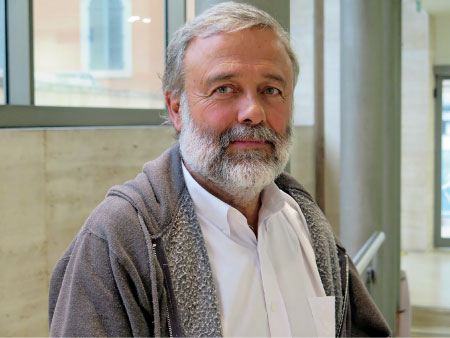 Benito Baranda, presidente de la ONG América Solidaria