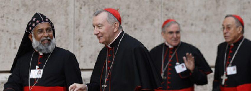 cardenales padres sinodales participantes en el Sínodo de la Familia 2015