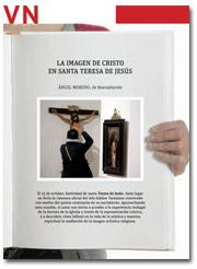 portada Pliego VN La imagen de Cristo en Santa Teresa de Jesús 2959 octubre 2015