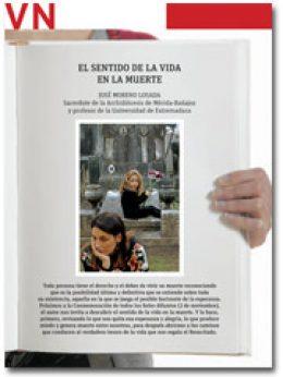 portada pliego Vida Nueva El sentido de la muerte 2961 octubre 2015