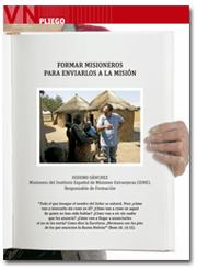 portada Pliego Formar misioneros para la misión 2962 octubre 2015