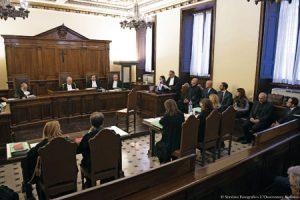 Primera sesión del juicio de Angel Lucio Vallejo Balda Francesca Immacolata Chaouqui en el tribunal vaticano