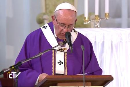 papa Francisco preside misa en Catedral de Bangui República Centroafricana 29 noviembre 2015 viaje África