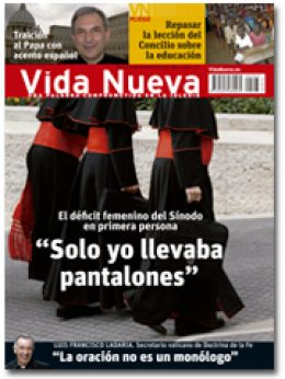 portada Vida Nueva Mujeres en el Sínodo de la Familia 2963 noviembre 2015 pequeña