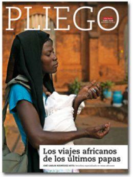 portada Pliego Viajes de papas a África 2964 noviembre 2015