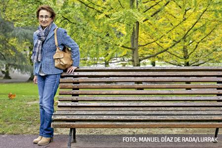 Mari Carmen Hernández, víctima de ETA, viuda de un concejal del PP asesinado en Durango en el año 2000