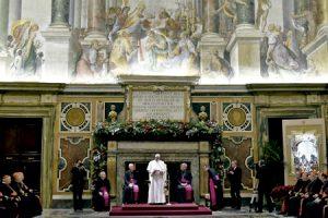 discurso de Navidad del papa Francisco a la Curia romana 21 diciembre 2015